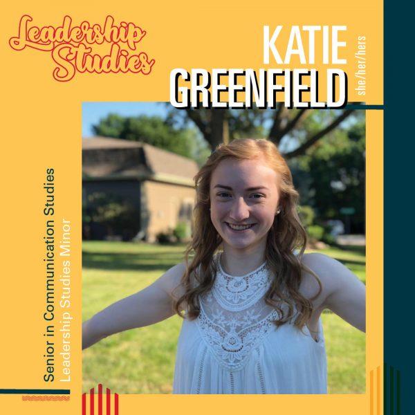 Katie Greenfield of Leadership Studies
